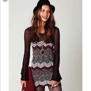 Free people sweater dress sz S